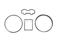 Chrome Dashboard Gauge Ring Bezel Set for VW Volkswagen Jetta Mk4 Bora Golf Mk4