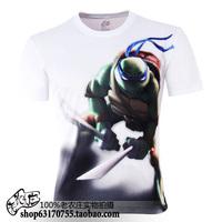 Plus size cheap o-neck Teenage Mutant Ninja Turtles 3D prints S-6XL novelty T-shirt men's clothing  TCQ119