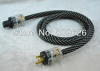 Audiocrast OFC AC Power cable with P-029+C-029 HiFi AC Power cable