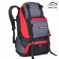 40l outdoor bag mountaineering bag backpack travel waterproof bag material 062