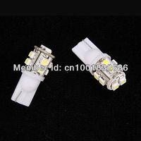 wholesale 10x T10 W5W 194 168 501 Car 10 SMD 1210 LED turn signal Inverted Side Wedge parking Light side marker Bulb 12V white