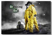 Free Ship Breaking Bad TV 1 2 3 4 5 Season Silk Wall Poster 48x32,36x24,30x20,20x12 inch Prints White Pinkman BreakingBad