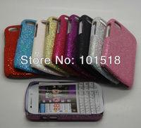 50pcs/lot&free shippinng Glitter Bling Shining Hard Back Case For BlackBerry Q10