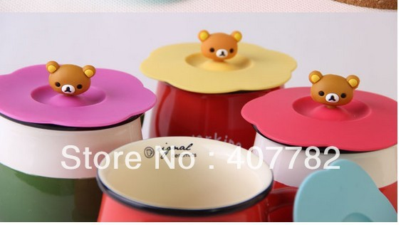 Free shipping cartoon cup lid hat cover novelty cup lids househould decoration dropship(China (Mainland))
