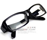 Plain mirror myopia frame eyeglasses glasses frame Men Women in the box full frame black vintage ultra-light