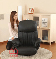 Pinyou Home, pneumatic control, folding chair, computer chair, adjustive chair, leisure chair, 2 types, black