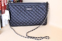 New 2013 Mango brand women's handbag  4 color Crossbody Small Envelope plaid Day shopping Cluth women messenger bag freesihp