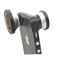3 in1 Super Wide 0.4X Camera Lens and Fisheye + Macro Lens For iPhone 5 5G with retail Pacakge Free Shipping