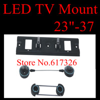 "New Wall Mount for 23""-37"" Flat Panel Screen LCD/Plasma TV Monitor  Max VESA 200mm  free shipping"