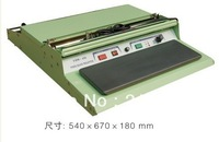 HW450 Food tray Hand Wrapping Machines  Hand fresh plastic film Wrapper for food