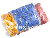 Free ship +RFID EM card key fob,re-writable 125Khz EM4305 Rfid Copy Card ,shape card,keyfob tags