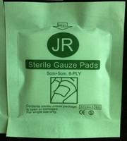 First aid kit sterile gauze piece swab sterile gauze block 8 layer gauze pad