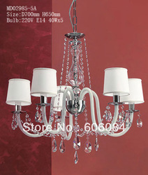 2013 crystal light down lights chandeliers wholesale(China (Mainland))