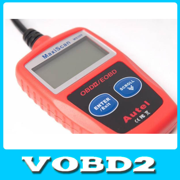 Maxiscan MS 309 OBD2 Can Eng/Fr/Sp/Dutch/G Scanner obd2 maxiscan scanner(China (Mainland))