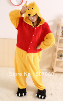 1 pcs Winnie Cosplay Costumes Animal Leopard Kigurumi Anime Pyjamas Sleepwear