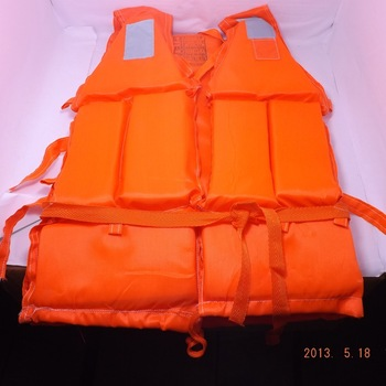 Free Shipping Marine life vest life vest 4 high visibility jacket foam life vest professional swimwear fishing clothes