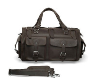 SALE Crazy horse leather travel bag luggage chambrays leather  FREE SHIPPING