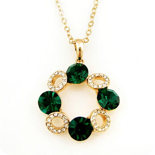 Stella free shipping Gift crystal garishness necklace fashion women's short design accessories l897(China (Mainland))