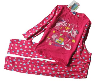 peppapig baby sleepwear/pajamas 100%cotton.embroidery lovely pink pig