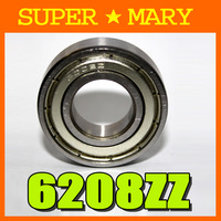 30pcs cnc deep groove bearings 6208zz bearing40*80*18mm MB159#30
