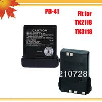 5pcs/lot DHL Free Shipping !!! 2013 Hot-selling New Walkie Talkie TK2118 TK3118 FM radio with 1500mAh Li-ion Battery PB-41
