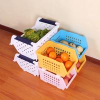 Saddam multi-purpose fruit and vegetable storage basket shelf storage rack single plastic storage 470