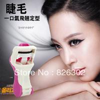 Simple and elegant Plastic folded mini eyelash curler,lash curler Free Shipping