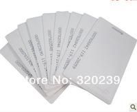 RFID 125Khz Proximity ID Cards 1.8mm Thin Credit Card Size Card Access Control EM Proximity