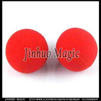 Free shipping,Sponge ball magic trick,50pcs/lot for giochi di prestigio wholesale