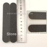 FREE SHIPPING 12cm 2-way 100/180 short black File Straight Nail Sanding Files Nail File N045