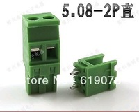 UL approved 2Pin  pluggable  PCB  Terminal Block Connector 5.08mm Pitch  staight needle