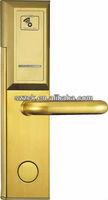 2013 popular hotel card lock system, hotel door lock