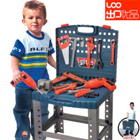 5-29 Child artificial tool box tool sets electric drill belt boy birthday gift Free Shipping
