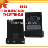 police radio battery PB-32 NI-CD 1000MAH for FM radio TH22AT/TH42AT/TH-79A/ TK-208/TK-308 5pcs/lot DHL free shipping free