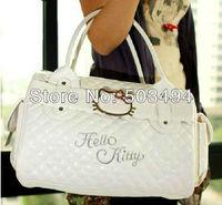 hello kitty bags HelloKitty for Women Girl Shoulder Bag Purse Handbag Tote Shining Gift white pink Bag Children 1pcs