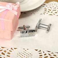 Customized  Square Block Cuff Links for Men