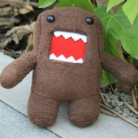 free shipping 1pc 7inch Cute brown Domo Kun Plush Doll Toy