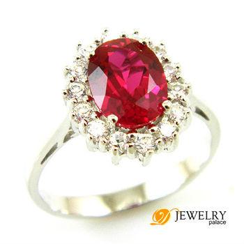 оптовая женщин мода ювелирных украшений 2.5ct голубиная кровь красный рубин кольцо. стерлингового серебра 925 размер 6 7 8 бесплатная доставка