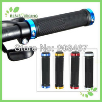 Free Shipping 1pair Bicycle Handlebar Grip Giant Cycling Antiskid Handrim Grips in Four Colors