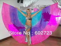 free shipping egpyt  belly dancer wear , belly danve isis wings, silk &  polyester isis wings