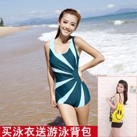 2013 paragraph fashion sports swimwear one piece plus size women swimwear
