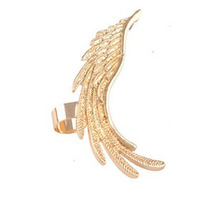 Fashion Punk Gold Silver Angel Wing Ear Cuff Ear Clip For Women Free Shipping JYEM-0427126