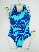 Hot spring female swimsuit plus size one piece triangle swimwear plus size 2.6 - 3.2 chromophous