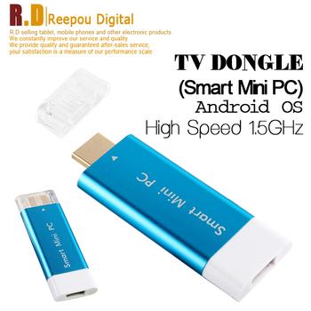 NEW Smart MINI PC Android 4.1 Cortex A9 1.5GHz  TV box TV Stick Dongle 4GB/512MB XBMC HDD Media Player