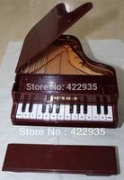 High Quality Elegant Classical Piano Shape Coffee New Cord Phone Home Desk Telephone Free Shipping
