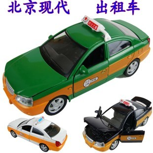 For hyundai   elantra taxi the door 4 WARRIOR plain alloy car model