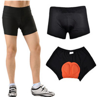 Unisex Black Bicycle Bike Cycling Shorts Underwear Pants Gel 3D Padded Coolmax