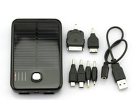 5000mAh Solar Panel Powered Back Up Battery USB Charger 3pcs for iPhone