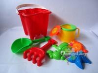 Child beach toy set sand toy sand tools baby swimming toys yakuchinone bucket