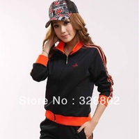 High quality 2013  Ms. Leisure wear and sports wear Female sport suit Sports wear suits sweater women jogging women